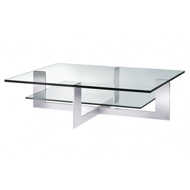 Popular Photo of Sample Of Rectangle Glass Coffee Table