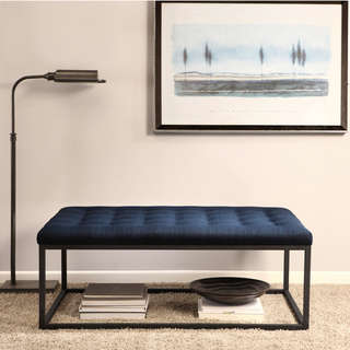 Renate-Navy-Modern-wood-coffee-table-reclaimed-metal-mid-century-round-natural-diy-padded-large-leather-storage-rectangular-ottoman-coffee-table (Image 10 of 10)