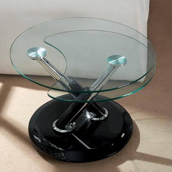 Rotating Glass Coffee Table Wooden Furniture Made By Compressure Molding Was Founded In 1983 With The Aim Of Increasing The Interest For This Technique (View 8 of 9)