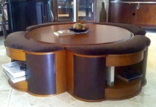 Round Coffee Table With Chairs Underneath Free Download Coffee Table With Chairs Underneath (View 6 of 10)