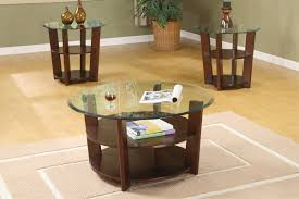 Round Coffee Tables And End Tables 3 Sets Ideas Round Glass Coffee And End Table Sets (View 4 of 10)