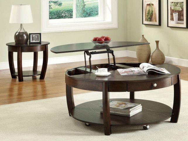 Round Lift Top Coffee Table Lift Top Coffee Table Ideas And Design For Living Room Decor Round Lift Top Coffee Table (View 8 of 10)