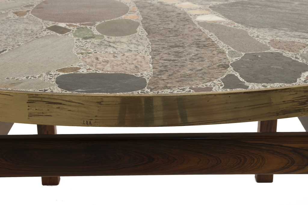 Round Stone Top Coffee Table Image Detail View Pictures Download Gallery (Image 7 of 10)