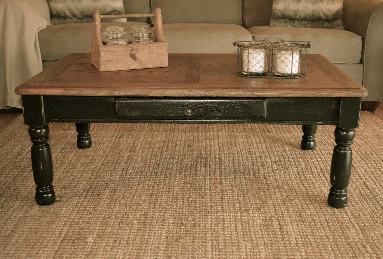 Rustic Black Coffee Table Rustic Black Coffee Table Square Shape (Image 6 of 10)