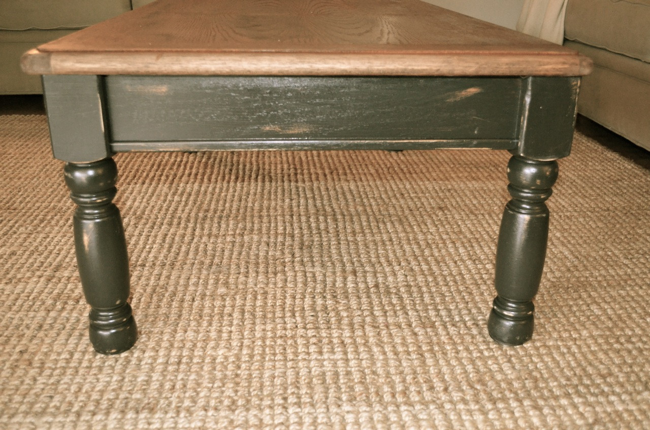 Rustic Black Coffee Table Square Shape Rustic Black Coffee Table (Image 7 of 10)