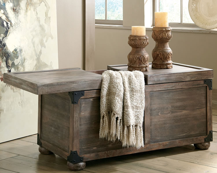 Rustic-Coffee-Table-Trunk-Style-with-Storage-Variety-of-Rustic-Coffee-Tables (Image 6 of 10)