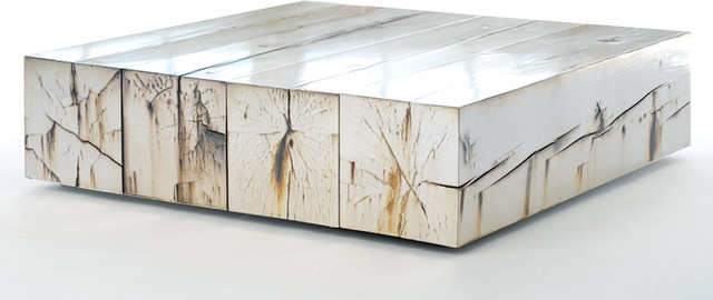 Rustic-Contemporary-Coffee-Table-granite-paint-on-side-view-cool-modern-coffee-tables (Image 4 of 10)