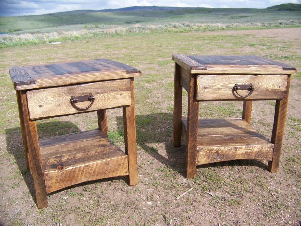 Rustic End Tables And Coffee Tables Best Rustic End Tables Sets And Ideas (View 7 of 8)