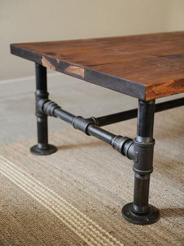 Rustic-Industrial-Coffee-Table-As-Ikea-Coffee-Table-On-Decorating-Table-Your-Trend-Cheap-Glass-Coffee-Table (Image 6 of 10)