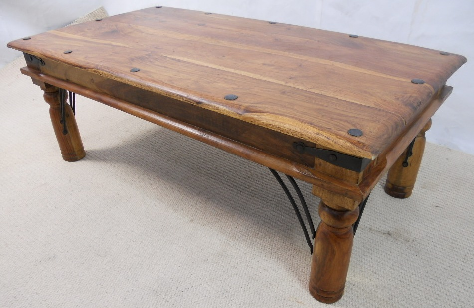 Rustic Wood Coffee Table As Coffee Table On Refacing Coffee Table The New Bassett Coffee Table 3 (Image 4 of 10)