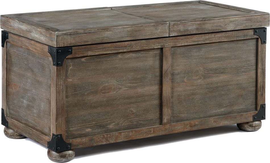 Rustic Coffee Table Trunk Style With Storage Rustic Furniture Stores Cocktail Tables (View 4 of 10)