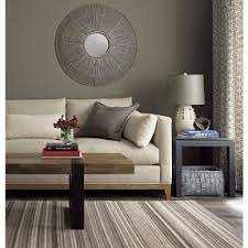 Seguro Rectangular Coffee Table In Coffee Tables Side Tables Crate And Barrel 1 Sofa 1 Table 1 Rug 1 Lamp (View 9 of 10)