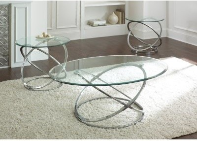 Silver-and-Glass-Coffee-Table-Oval-Glass-Coffee-Table-for-Modern-Touch-on-Your-House-is-this-lovely-recycled-wood-iron-and-pine (Image 8 of 10)