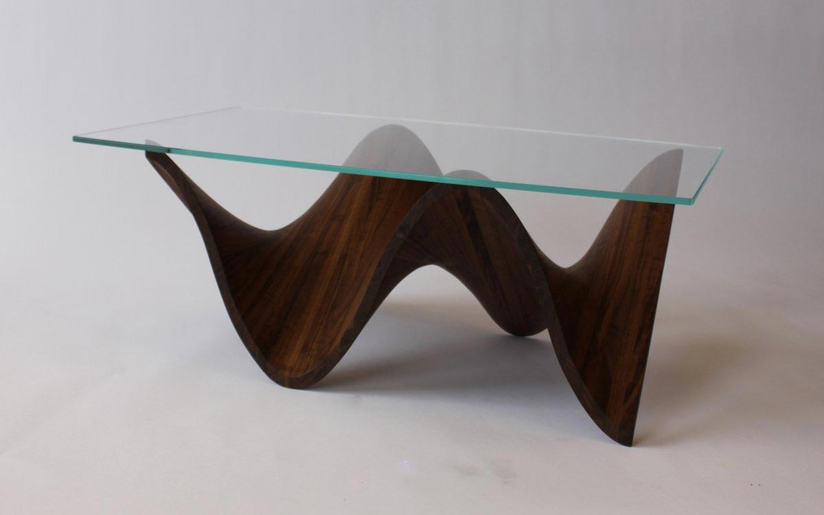 Simple Coffee Table Wood Glass Coffee Table Becomes The Supporting Furniture That Will Make Your Room Greater (View 4 of 10)
