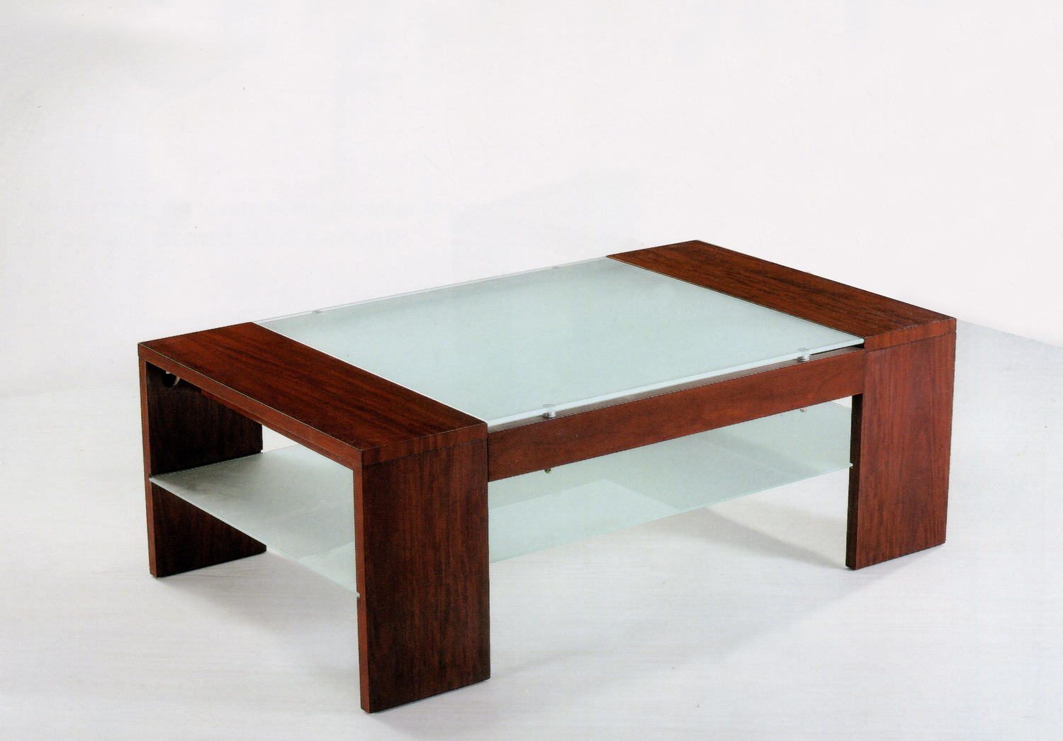 Simple Coffee Table Wood Glass The Perfect Size To Fit With One Of Our Younger Sectional Sofas (Image 10 of 10)