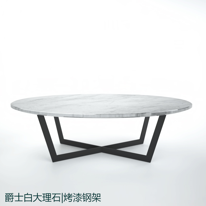 Sir-custom-stainless-steel-paint-Modern-wood-coffee-table-reclaimed-metal-mid-century-round-natural-diy-All-modern-oval-coffee-tables (Image 9 of 10)