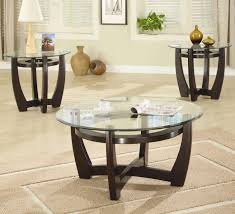 Small Coffee Table Sets Clase Wooden Coffee Table Set With 3 Stool (Image 7 of 10)