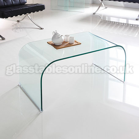 Solid Glass Coffee Table All Of Them Have A Sleek Clean Look To Them That Many Would Say Looks Like They Are From The Future (View 2 of 9)