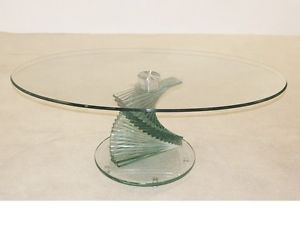 Spiral Glass Coffee Table The Possibilities Are Endless With These Versatile Nesting Tables Of Three Different Sizes (View 7 of 10)