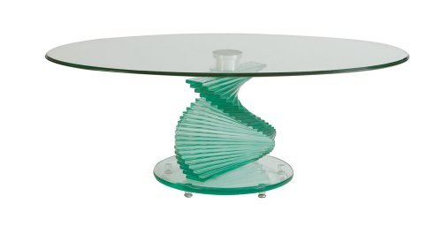 Spiral Glass Coffee Table You Have To Know That The Glass Coffee Table Has The Expensive Price To Deal (View 10 of 10)