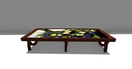 Stained-Glass-Coffee-Table-Console-Tables-All-Narcissist-and-Nemesis-Family-Modern-Design-Sofa-Table-contemporary-Glass (Image 3 of 10)