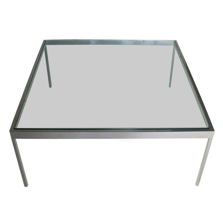 Stainless Steel And Glass Coffee Table I Simply Wont Ever Be Able To Look At It In The Same Way Again (View 4 of 10)