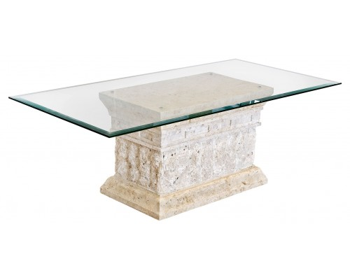 Stone And Glass Coffee Tables Handmade Contemporary Furniture You Could Sit Down And Relax On The Sofa With Your Cup Of Nescafe At This Table (View 6 of 10)