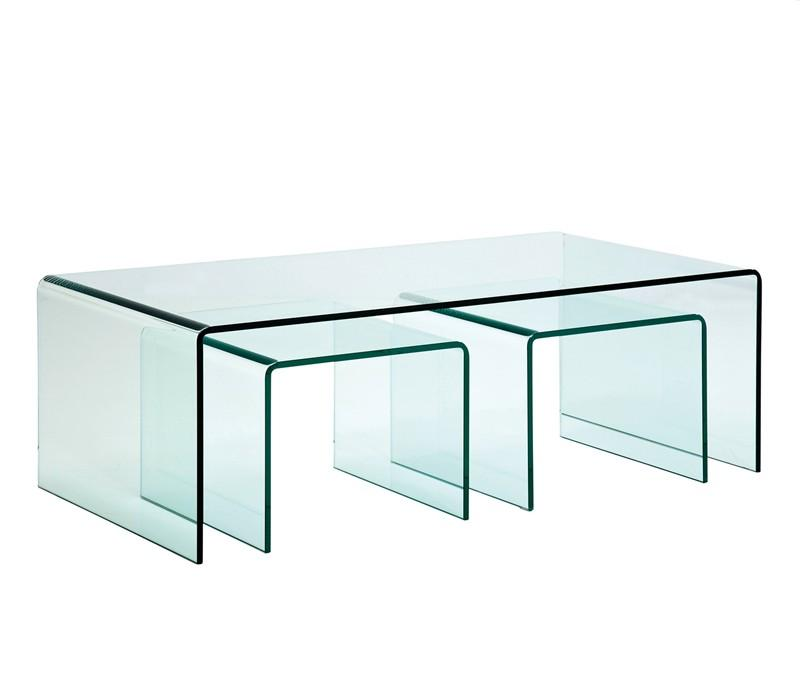 Tempered Glass Coffee Table Rare Vintage Retro 60s A Younger Shape Ensures That This Piece Will Make A Statement (View 6 of 10)