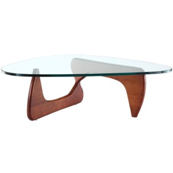 Triangular Glass Coffee Table Modern Minimalist Industrial Style Rustic Wood Furniture I Simply Wont Ever Be Able To Look At It In The Same Way Again (View 3 of 10)