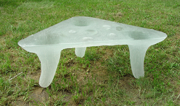 Triangular Glass Coffee Table Too Much Brown Furniture A National Epidemic Too Much Brown Furniture A National Epidemic (View 7 of 10)