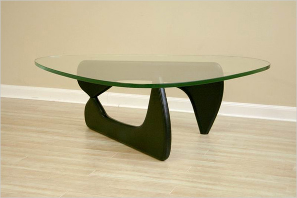 Triangular Glass Coffee Table You Keep Your Things Organized And The Table Top Clear Is This Lovely Recycled Wood Iron And Pine (View 10 of 10)