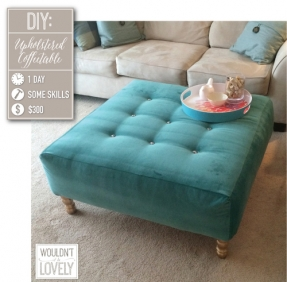Featured Photo of Tufted Fabric Ottoman Coffee Tables