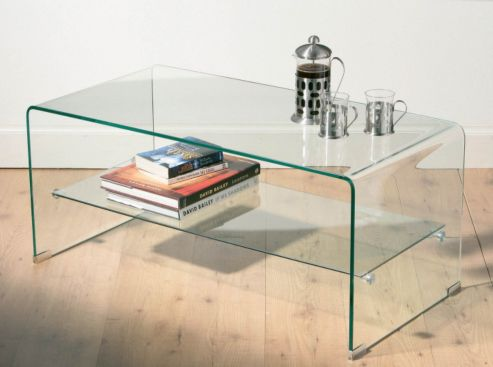 Two-Tier-Glass-Coffee-Table-drawer-Wood-Storage-Accent-Side-Table-Related-How-to-Decorate-Your-Living-Room (Image 6 of 10)