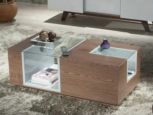 Ultra Modern Coffee Tables Beautiful Interior Furniture Design But Also Suspends A Woven Cat Hammock Below So You (Image 3 of 9)