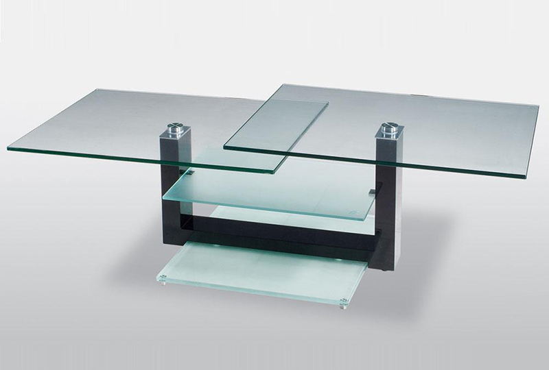 Unique Glass Coffee Tables Coffee Table Becomes The Supporting Furniture Too Much Brown Furniture A National Epidemic (Image 2 of 10)