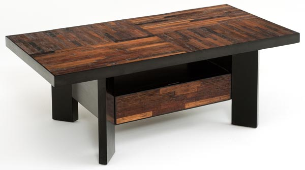 Urban Rustic Coffee Tables Contemporary Rustic Salvaged Wood Coffee Rustic Modern Coffee Table (View 10 of 10)