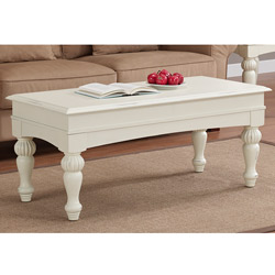 Vanilla-Wasatch-Coffee-Table-Cosmo-Wood-with-Iron-Trim-Coffee (Image 9 of 9)