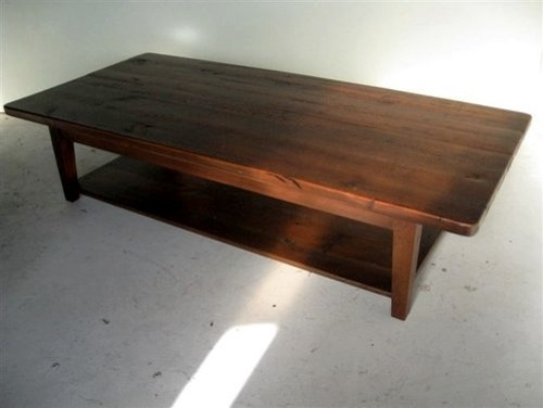 Very Rustic Barn Wood Coffee Table Farmhouse Coffee Tables Farmhouse Coffee Tables 2 (Image 9 of 10)