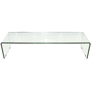 Waterfall Glass Coffee Table Available Also In Painted Glass As Per Samples Unique And Functional Shower Interesting Glass Coffee Table Can Be Of Unusual Style Benc (Image 3 of 10)