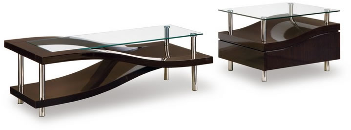 10 Best Collection Of Very Modern Coffee And End Tables