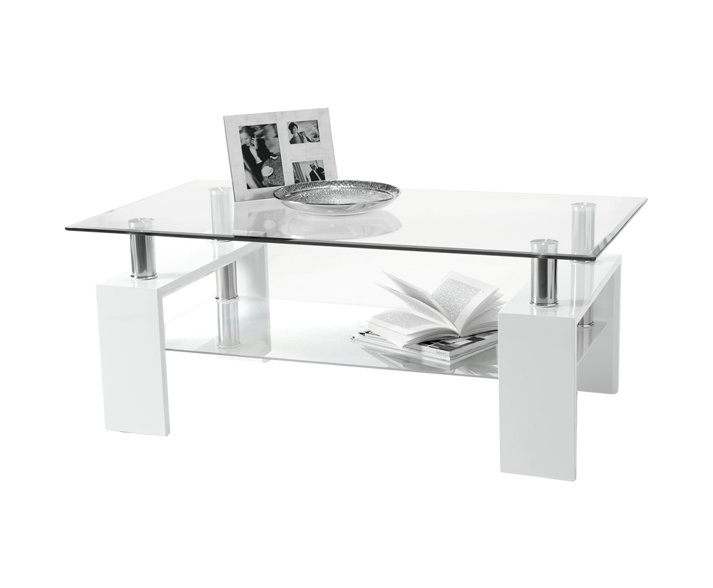 Featured Photo of White And Glass Coffee Tables