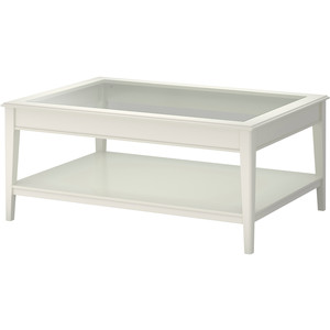 Featured Photo of White Coffee Table With Glass Top