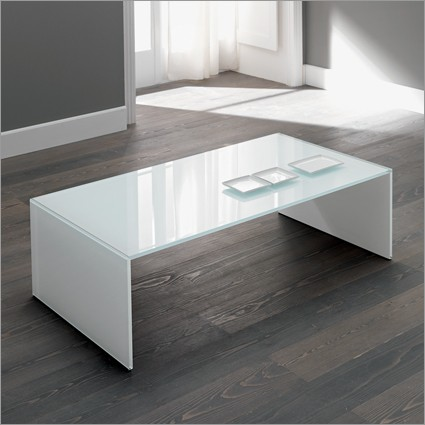 White Glass Coffee Table The Possibilities Are Endless With These Versatile Nesting Tables Of Three Different Sizes (View 7 of 9)