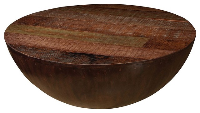 Wooden Round Coffee Table Contemporary Coffee Tables (Image 8 of 10)