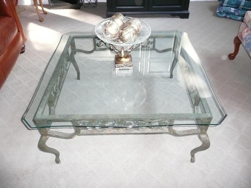 Wrought Iron Glass Coffee Tables Coffee Table Becomes The Supporting Furniture That Will Make Your Room Greater Contemporary Glass Coffee Tables With (Image 5 of 10)