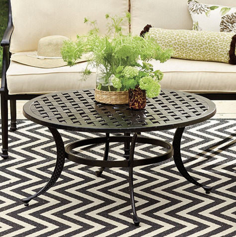 Featured Photo of  Outdoor Coffee Table Round