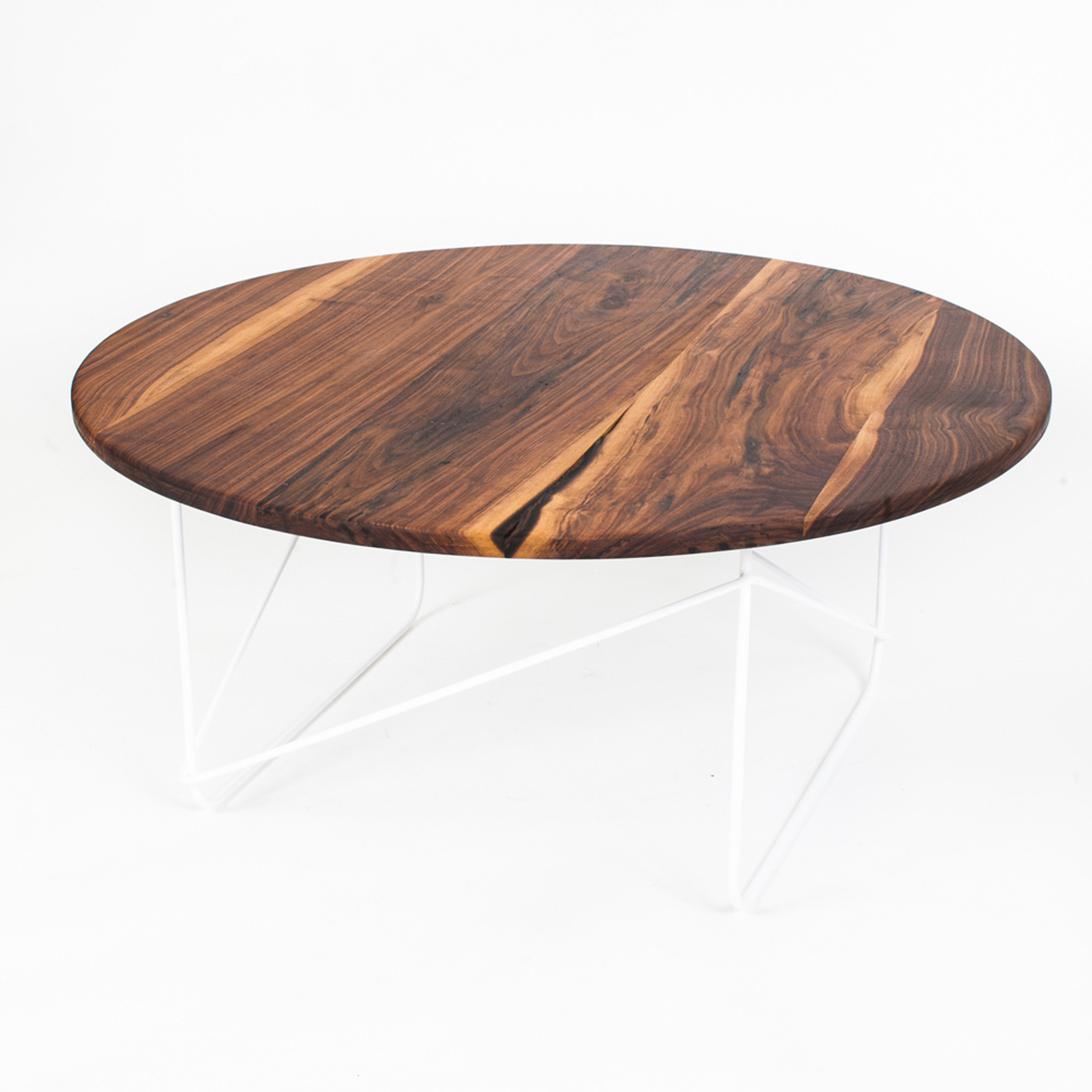 10 Best Collection of Dark Round Walnut Coffee Table