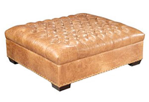 Featured Photo of Large Leather Ottoman Coffee Table