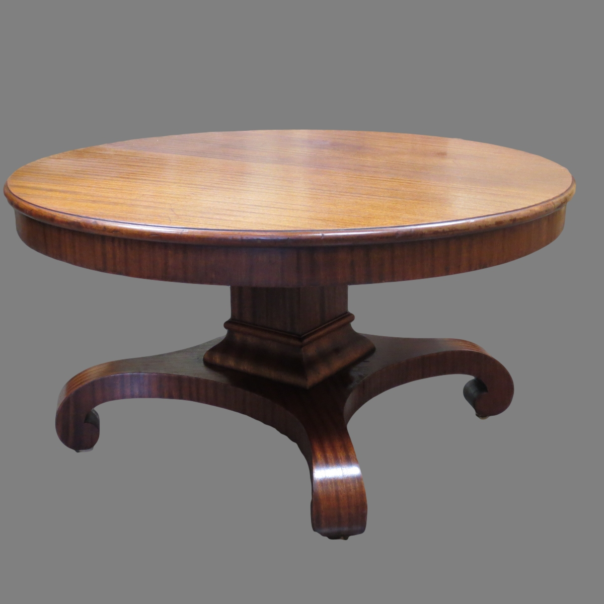 Featured Photo of Round Antique Coffee Table For Living Room