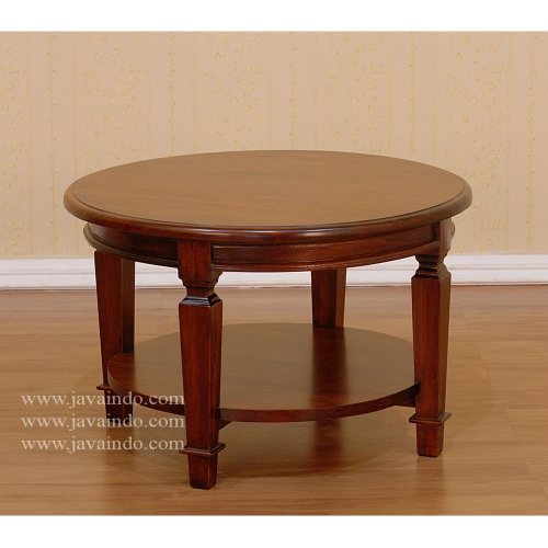 antique-coffee-table-mahogany-round-table-4-legs-round-mahogany-coffee-table-small-coffee-table-in-mahogany (Image 2 of 10)